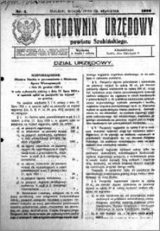 Orędownik Urzędowy powiatu Szubińskiego 1926.01.13 R.7 nr 4