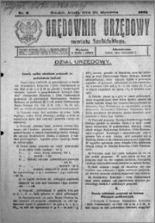 Orędownik Urzędowy powiatu Szubińskiego 1926.01.20 R.7 nr 6