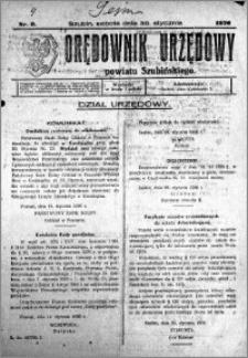 Orędownik Urzędowy powiatu Szubińskiego 1926.01.30 R.7 nr 9
