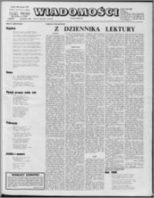 Wiadomości, R. 27 nr 4 (1347), 1972