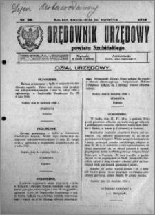 Orędownik Urzędowy powiatu Szubińskiego 1926.04.14 R.7 nr 30
