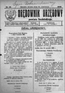 Orędownik Urzędowy powiatu Szubińskiego 1926.06.16 R.7 nr 48
