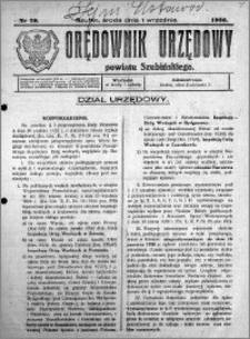 Orędownik Urzędowy powiatu Szubińskiego 1926.09.01 R.7 nr 70