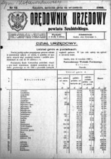 Orędownik Urzędowy powiatu Szubińskiego 1926.09.18 R.7 nr 75