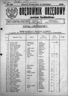 Orędownik Urzędowy powiatu Szubińskiego 1926.11.10 R.7 nr 90