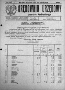Orędownik Urzędowy powiatu Szubińskiego 1926.11.20 R.7 nr 93
