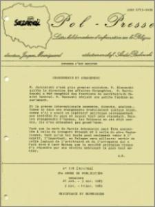 Pol-Presse 1985 nr 151/152