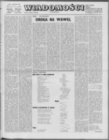 Wiadomości, R. 27 nr 11 (1354), 1972
