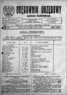 Orędownik Urzędowy powiatu Szubińskiego 1927.06.29 R.8 nr 51