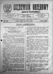 Orędownik Urzędowy powiatu Szubińskiego 1927.07.02 R.8 nr 52