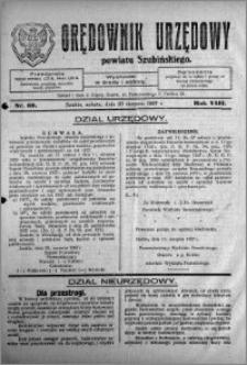 Orędownik Urzędowy powiatu Szubińskiego 1927.08.20 R.8 nr 66