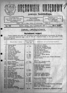 Orędownik Urzędowy powiatu Szubińskiego 1927.10.08 R.8 nr 80