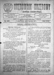 Orędownik Urzędowy powiatu Szubińskiego 1927.12.24 R.8 nr 102