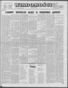 Wiadomości, R. 27 nr 20 (1363), 1972