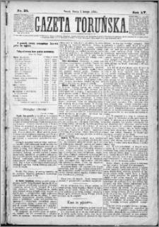 Gazeta Toruńska 1881, R. 15 nr 26
