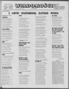 Wiadomości, R. 27 nr 27 (1370), 1972