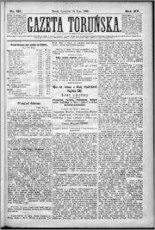 Gazeta Toruńska 1881, R. 15 nr 157