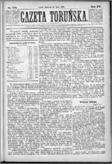Gazeta Toruńska 1881, R. 15 nr 172