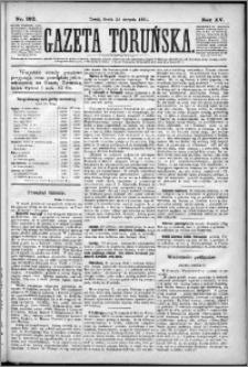 Gazeta Toruńska 1881, R. 15 nr 192