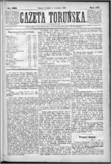 Gazeta Toruńska 1881, R. 15 nr 202
