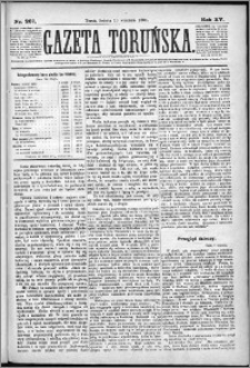 Gazeta Toruńska 1881, R. 15 nr 207