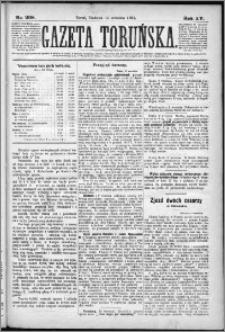 Gazeta Toruńska 1881, R. 15 nr 208
