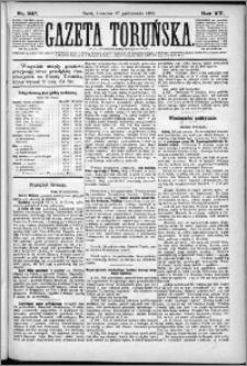 Gazeta Toruńska 1881, R. 15 nr 247