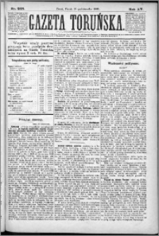 Gazeta Toruńska 1881, R. 15 nr 248