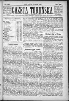 Gazeta Toruńska 1881, R. 15 nr 287