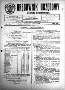 Orędownik Urzędowy powiatu Szubińskiego 1928.04.07 R.9 nr 28