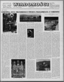 Wiadomości, R. 27 nr 41 (1384), 1972