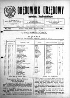 Orędownik Urzędowy powiatu Szubińskiego 1928.09.05 R.9 nr 70