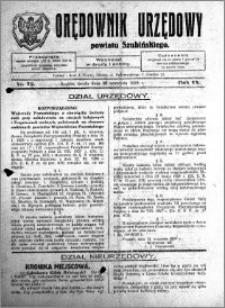 Orędownik Urzędowy powiatu Szubińskiego 1928.09.26 R.9 nr 76