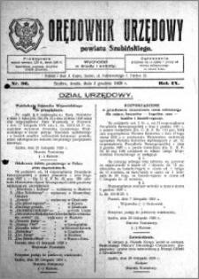 Orędownik Urzędowy powiatu Szubińskiego 1928.12.05 R.9 nr 96
