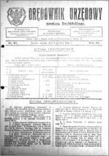Orędownik Urzędowy powiatu Szubińskiego 1928.12.08 R.9 nr 97