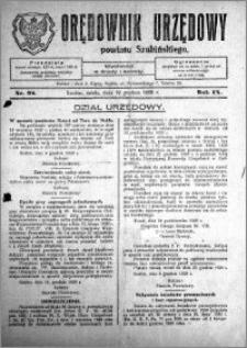 Orędownik Urzędowy powiatu Szubińskiego 1928.12.12 R.9 nr 98