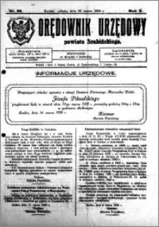 Orędownik Urzędowy powiatu Szubińskiego 1929.03.16 R.10 nr 22