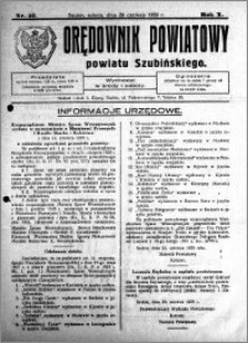 Orędownik Powiatowy powiatu Szubińskiego 1929.06.29 R.10 nr 52