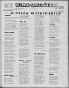 Wiadomości, R. 27 nr 49 (1392), 1972