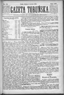Gazeta Toruńska 1882, R. 16 nr 76