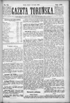 Gazeta Toruńska 1882, R. 16 nr 80