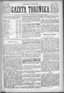 Gazeta Toruńska 1882, R. 16 nr 83