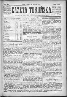 Gazeta Toruńska 1882, R. 16 nr 84