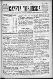 Gazeta Toruńska 1882, R. 16 nr 87