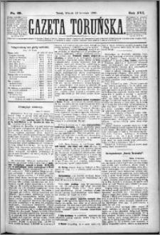 Gazeta Toruńska 1882, R. 16 nr 88