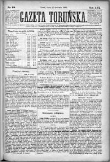 Gazeta Toruńska 1882, R. 16 nr 89