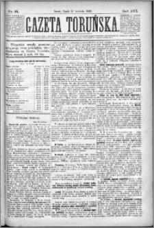 Gazeta Toruńska 1882, R. 16 nr 91
