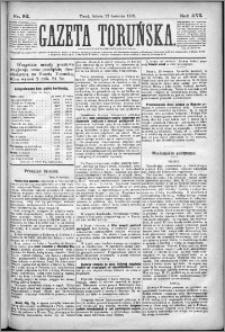Gazeta Toruńska 1882, R. 16 nr 92
