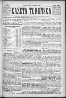 Gazeta Toruńska 1882, R. 16 nr 96