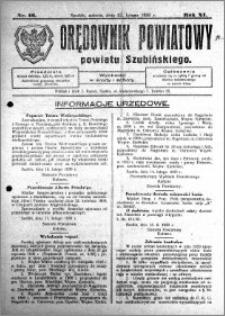 Orędownik Powiatowy powiatu Szubińskiego 1930.02.22 R.11 nr 16